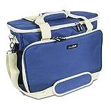 La Canilla ® - Nähmaschinentasche 45X30X19, Nähmaschine Tasche, Transport und Aufbewahrungs Tasche für alle gängigen Haushaltsnähmaschinen und Nähzubehör