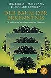 Der Baum der Erkenntnis: Die biologischen Wurzeln menschlichen Erkennens - Humberto R. Maturana, Francisco J. Varela