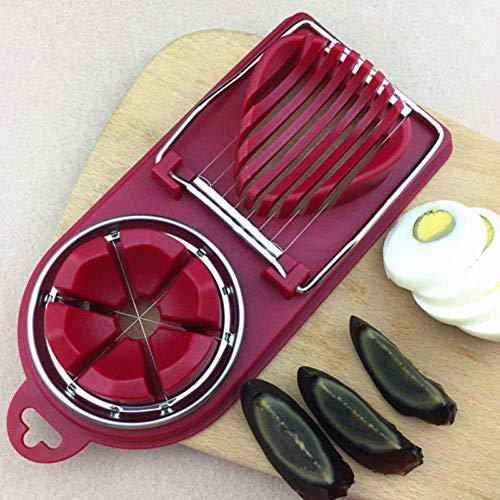 cozywind Eierschneider Gemüse Abschnitt Cutter Form Küche Chopper Werkzeug