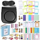 Neewer 56-en-1 Kit Accesorio para Fujifilm Instax Mini 70(Negro),Caja Cámara con Correa Ajustable,Varios Marcos,Álbum Libro,Filtro Color,Etiquetas Engomadas Esquina
