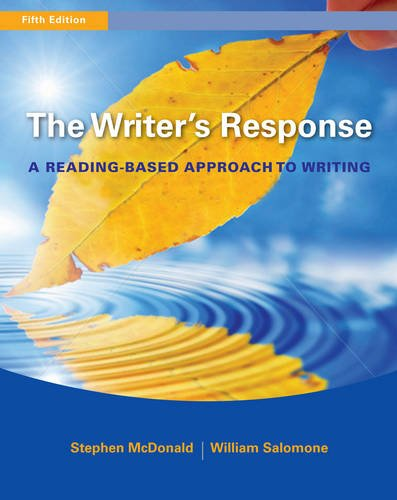 The Writer's Response: A Reading-Based Approach to Writing
