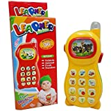 Vikas gift gallery Learning Mobile Phone Toy for Kids with Image Projection, Multicolor