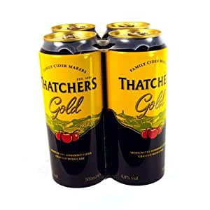 Thatchers Gold Crisp Somerset Cider 4 Pack 2000g