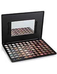 WEKSI® Palette Maquillage 88 Natural Color chaud Fard à paupières Eye Shadow Palette Cosmétique + Mirror Brush(88-2 couleur)