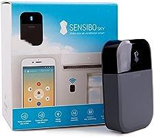 Sensibo Sky Contrôle intelligent des climatiseurs et pompes à chaleur, Wi-Fi, à partir du smartphone (iOS/Android), Fonctionne avec Amazon Alexa et Google Home