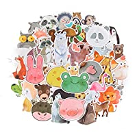 XCVBN Cute Lucky Unicorn Stickers Paper Adhesive Stickers For Children Gifts Diy Decorative Diary Scrapbooking Photo Ablums46Pcs