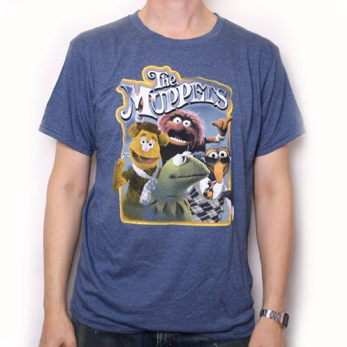 The Muppets T-Shirt - Muppets Group 100% ufficiale US Import giallo s