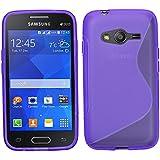 Samrick S Wave Coque de protection en hydrogel pour Samsung Galaxy Ace 4 violet