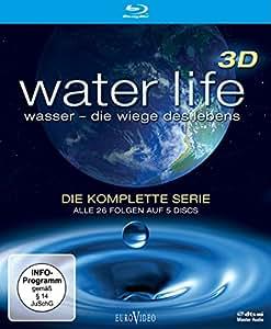 Water Life 3d-die Komplette Serie (Blu-Ray 3d) [Import allemand]