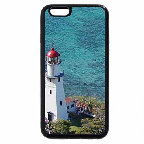 iPhone 6S / iPhone 6 Case (Black) Diamond Head Lighthouse