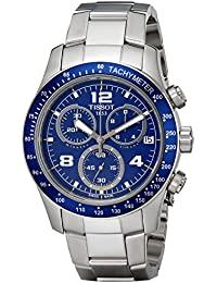 amazon co uk tissot watches mens tissot v8 chronograph watch t0394171104702