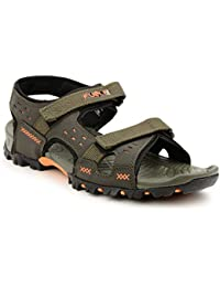 Fuel Men's Fashionable Comfortable Velcro Closure Casual Sandals & Floaters For Boy's