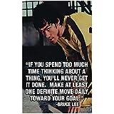 Bruce Lee Posters | Bruce Lee Poster | Bruce Lee Motivational Posters | Bruce Lee Quotes Posters