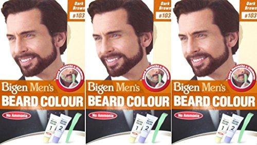 Bigen-Mens-Beard-Colour-B103-Dark-Brown-x-3-Packs