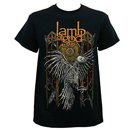Lamb of God Crow Uomo Black T-Shirt