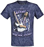 Photo de Jimi Hendrix Purple Haze T-Shirt Manches Courtes Multicolore par Jimi Hendrix