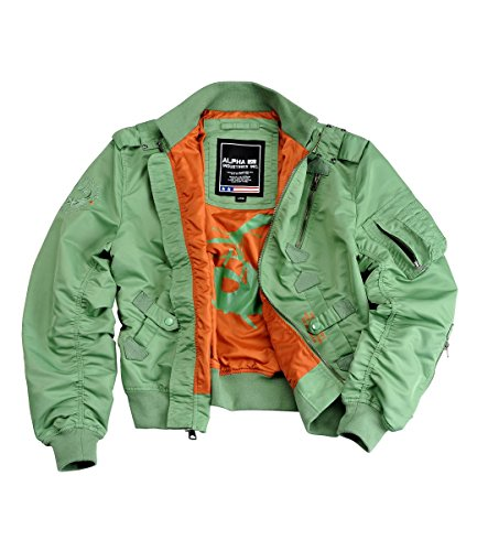 Alpha Industries Falcon Übergangsjacke Green