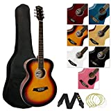 Tiger ACG2-SB Pack de Guitare acoustique - Sunburst