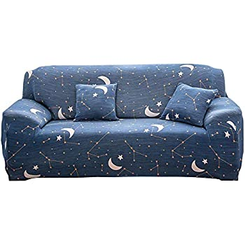 1//2//3//4 Seater Floral Sofa Cover Stretch Elastic Fabric Couch Slipcover Easy Fit