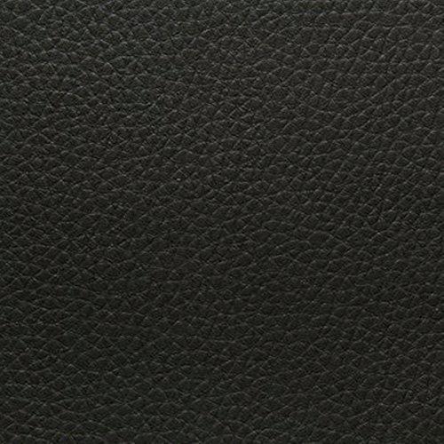 4L Textil Kunstleder Leder PVC Möbel Sitzbezug Meterware Polster (Schwarz ) (Schwarze Leder-unterseite)