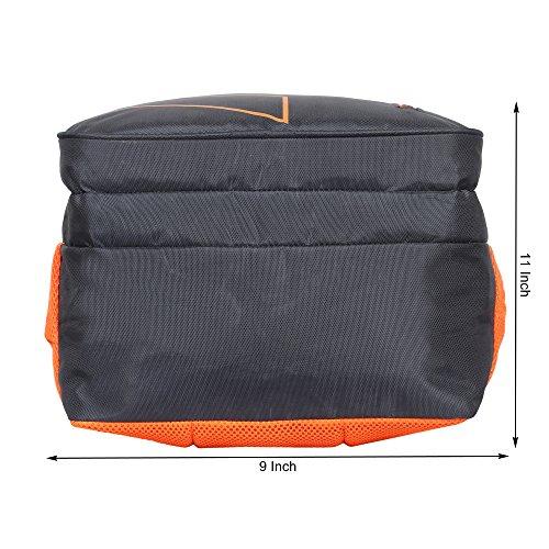 Sassie Grey Polyester 41 Ltr School Backpack Image 8