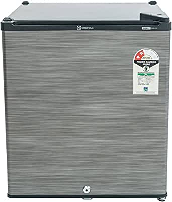 Electrolux 47 L 2 Star Direct-Cool Single Door Refrigerator (EC060PSH, Silver Hairline)