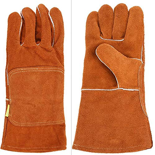 Men's Gloves Supply One Piece Of Insulation Microwave Oven Glove Kitchen Cooking High Temperature Cotton Thickening Glove G15 Price Remains Stable