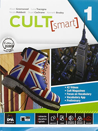 Cult [smart]. Student's book-Workbook. Per le Scuole superiori. Con CD Audio. Con DVD-ROM. Con e-book. Con espansione online: 1