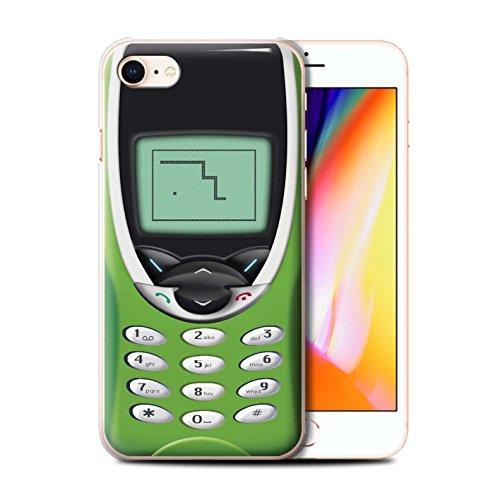 Coque de Stuff4 / Coque pour Apple iPhone 5C / Nokia 3310 bleu Design / Portables rétro Collection Nokia 8210 chaux
