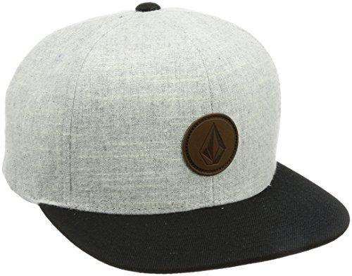 Volcom Quarter Fabric Cap Baseballmütze Snapback Grau Schildmütze, Grey Vintage, One Size