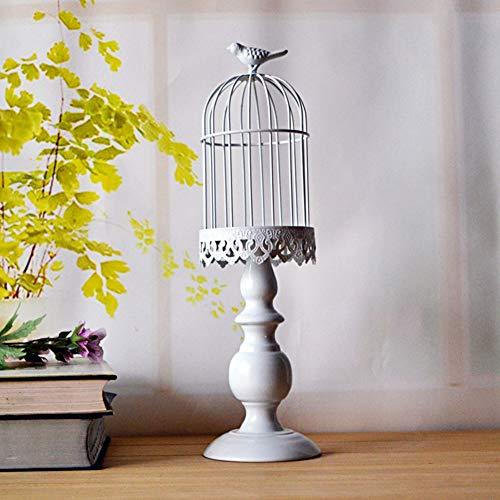 Li-lamp Europäische Retro Schmiedeeisen Vogelkäfig Kerzenhalter Urlaub Dekoration Kerzenhalter romantische Hochzeit Requisiten kreative Heimat High-End-Dekoration Kerzenhalter