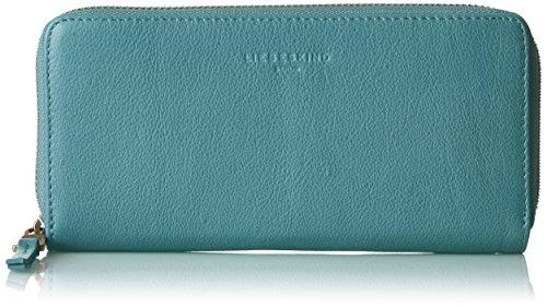 Liebeskind Berlin Damen Sallyf8 Core2 Geldbörse, Blau (Lagoon Blue), 2x19x10 cm