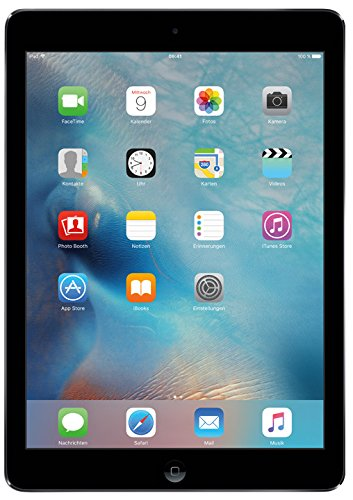 Apple iPad Air 2 24,6 cm (9,7 Zoll) Tablet-PC (WiFi, 64GB Speicher) spacegrau Apple Ipad Air 2 64 Wifi