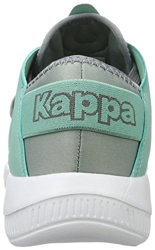 Kappa Unisex-Erwachsene Horus Sneaker Grau (1637 Grey/Mint)