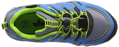 Lico Unisex-Kinder Fremont Trekking-& Wanderhalbschuhe Grau (grau/blau/lemon)