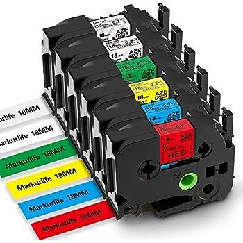 Ersatz kompatible Schriftband für Brother TZE141 Black auf Transparent-Drucker P