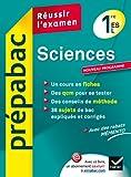 Sciences 1re ES, L - Prépabac Réussir l'examen: Cours et sujets corrigés bac - Première ES, L