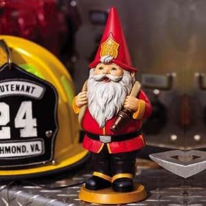 Pompiere Inspirational gnomo da giardino