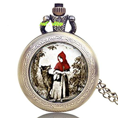 Little Red Riding Hood Halskette Armbanduhr Fairy Tales, Once Upon a Time (Original Red Riding Hood)