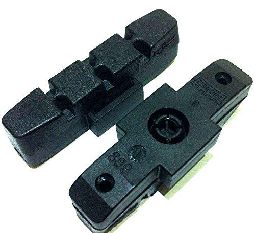 1 Paar (2St) Magura Bremsbeläge für Beschichtete Felgen Hs11 HS22 HS33 Evo (schwarz) (Raceline Felgen)