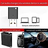 Sroomcla Adaptateur USB Bluetooth 5.0, Clé Bluetooth, Parfait pour Casque Bluetooth,...