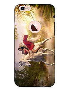 Case Cover Printed Multicolor Hard Back Cover For Apple Iphone 6