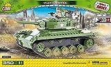 Konstruktion Spielzeug kleine Armee Panzer M24 Chaffee Bauklötzen Bausteine