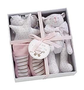 Les bébés d'Elyséa Coffret Cadeau avec Motif Etoile Rose