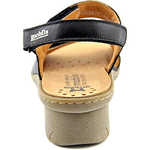 Mobils By Mephisto Sissi Cuir Sandale Black