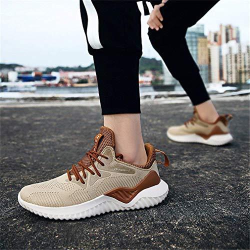 Yying Scarpe da Corsa da Uomo Sneakers Casual da Donna Sneakers Traspiranti  Scarpe da Trekking Scarpe da Passeggio per Maglie Scarpe da Esterno 8df47907ce2