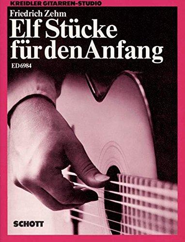 elf-stucke-fur-den-anfang-kreidler-guitar-studio-2-ou-3-guitares-partition-ed-6984