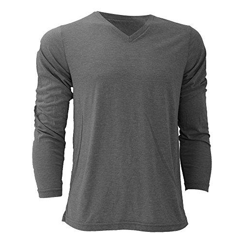 Canvas Triblend T-Shirt für Männer Grau