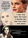 Emma Watson (Quotes) Vous Pouvez Obtenir Motivé Poster 30,5x 45,7cm