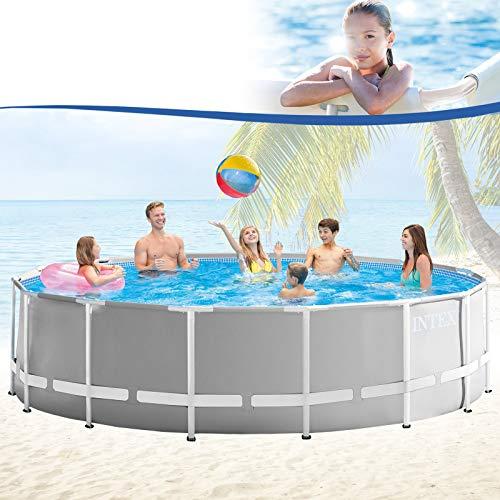 Premium-Pool 457×122 cm Schwimmbad Metallrahmen - 2